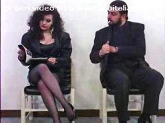 старо порно, трио, порно звезди, италианки