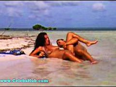 चेहरे का, योनि, समुद्र तट, पोर्नस्टार