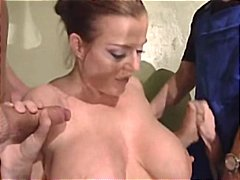 femei mature, dubla penetrare, pieptoase, germance