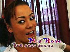 Миа Роуз, чорапогащи, анално, аматьори, азиатки, чорапи