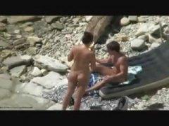голи жени, аматьори, мъж, плаж
