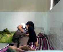 индийки, смесени момичета момчета, аматьори, общежитие