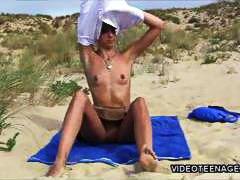 публично, мастурбация, плаж, сред природата