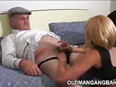 масов секс, трио, стари млади