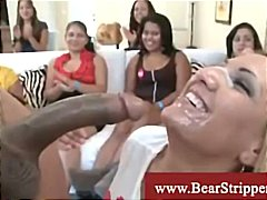 жена гол мъж, парти, черни, чекия, свирки, празнене