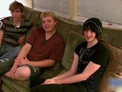 тийнейджъри, забавни, соло, момчета, млади гейове, трио