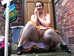 holky, tlusťošky, amatérská videa, boubelky, vzdychání, koukání pod sukně