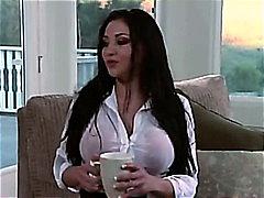Audrey Bitoni, großbusig, oral, deepthroat, titten, cowgirl, pussy, lecken, cunnilingus, doggy-style