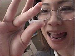 японки, хуй, в школе, буккакэ, азиатки, выстрел спермой