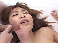 момичета, азиатки, японки, групов секс, кур, двойка