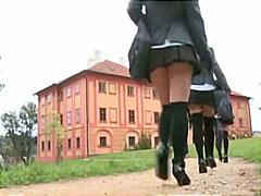 тийнейджъри, анално, училище