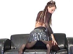 lesbičky, nohy v akci, punčochy, nylonky