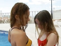 тийнейджъри, лесбийки, европейки, кур, аматьори