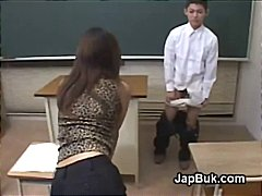 японки, женска доминация, азиатки, флашинг, учител