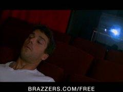 Bridgette B, butt, orgasm, threesome, brazzers, bridgette b, anal, dp, pornstar, big-tit, cinema
