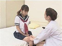 медицински сестри, японки, азиатки, лесбийки