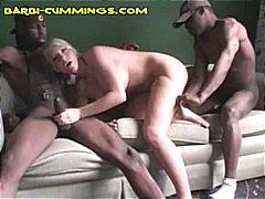 блондинки, трио, черни, кур, сладурана, свирки