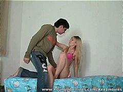 cumshot, teen, polina, facial, teenager, couple, younglibertines.com, tease, orgasm, teens