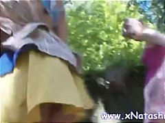 virgine, rusoaice, in afara casei, tineri, sex cu degetul, fete