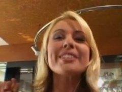 Анастейша Крайст, на лицето, блондинки