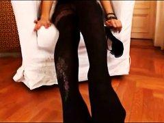 Анита Пърл, чорапогащи, мастурбация, чорапи