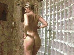 красиви, душ, блондинки