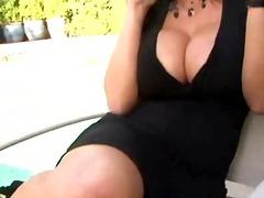 Лиса Ан, голям бюст, яко ебане, орално, големи цици