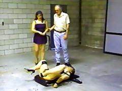 retro, píča, archivní, mučení mužů, bdsm