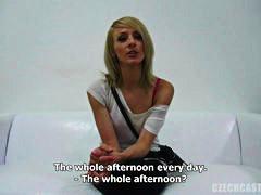 чехкини, публично, блондинки, гледна точка, кастинг