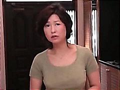азиатки, възрастни, мама