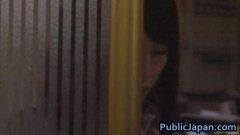 venku, asiatky, voyeuři, nahota na veřejnosti, drsné akce, japonky, felace