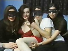 празнене, оргия, групов секс, свирки, аматьори, брюнетки