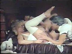 групов секс, класика, старо порно, стари млади