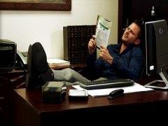 Ейнджъл Дарк, на лицето, анално, офис