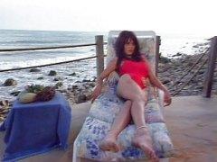 анално, на лицето, плаж