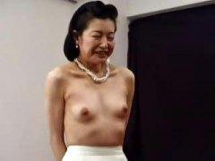 masturbaatio, japanilainen, kypsä, isoäiti, aasialainen