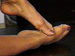 fetish picior, ciorapi de dama