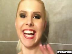 мастурбация, лесбийки, блондинки, душ, бивши