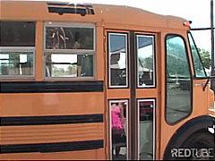 тийнейджъри, автобус