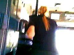 публично, автобус, скрит, флашинг