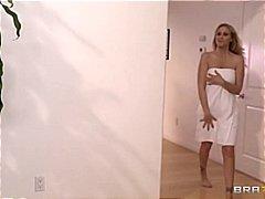 Julia Ann, velký prsa, hardcore, starší ženy, masáže