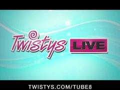 Тейлър Виксен, трио, лесбийки, голям бюст, на живо