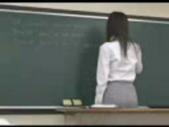teacher, nailed, japanese, one, gets, students, from, behind, asian