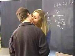 barmfager, sperm, student, kuk, blond, fitte, lærer, avsugning, suge, cumshot, tenåring