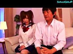 japanilainen, opiskelija, nännit, teini, tyttö, koulu, tussu, univormu