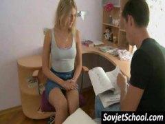 tussu, teini, sormeilu, suudelma, pehmoporno, venäläinen, opiskelija, blondi, amatööri