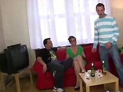 групов секс, възрастни, кур, анално, бабички