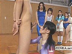 жена гол мъж, особени, азиатки, стеснителни, японки