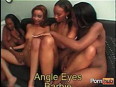 Ейнджъл Айс, празнене, лесбийки, африканки