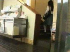 japanilainen, kova porno, ruiskinta, tyttö, aasialainen